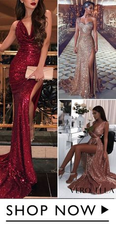 Prom dresses from VeroElla are made for making memories, from long, short, ball gown to mermaid, different styles are available. Elegant Dresses, Sexy Dresses, Nice Dresses, Fashion Dresses, Formal Dresses, Sparkle Dresses, Long Dresses, Gold Formal Dress, Sequin Prom Dresses