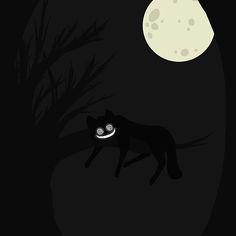 Cheshire Cat Minimalist