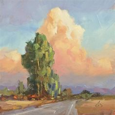 "Daily Paintworks - ""NATURES GRANDEUR"" - Original Fine Art for Sale - © Tom Brown"