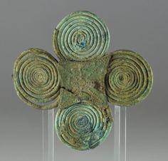 Etruscan bronze fibula, 6.8 cm long. Private collection