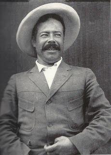 jesus muñoz.el ciego | Imagen retomada del libro Pancho Villa, la construcción del mito ,