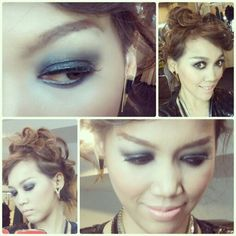 Smokey eyes? Heck yeah!  #smokey #makeup #eyeshadow