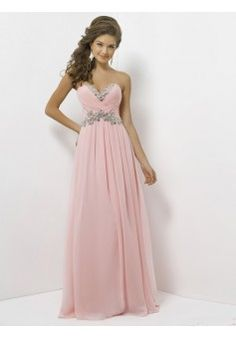 A-line Sweetheart Sleeveless Chiffon Pearl Pink Prom Dress With Beading #FJ053 - See more at: http://www.victoriasdress.com/prom-dresses/long-prom-dresses.html?p=5#sthash.EFmdZZxM.dpuf