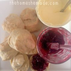 The Home She Made: Recipe: Old fashioned Scones