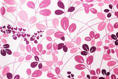 Moda Fabric / Floral Fabric / Flowers and Leaves / Simply Color by V and Co / White Purple /  Premium Cotton Craft Quilt Supply Half Metre by TwoChubbyRabbits on Etsy