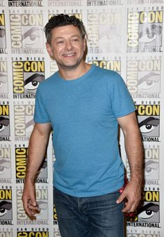 """r Andy Serkis attends """"The Hobbit: The Battle Of The Five Armies"""" Press Line during Comic-Con International 2014 at Hilton Bayfront on July 26, 2014 in San Diego, California."""
