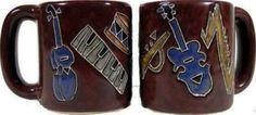 16 oz. Round Mug - Musical Instruments