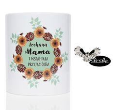Kochana Mama i wspaniała przyjaciółka, kubek ceramiczny 450/330ml