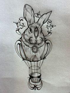 Miss Juliet...Tattoo,Draw and Life: Mongolfiera Tattoo/ Hot-air balloon Tattoo