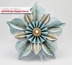 Splotch Design - Jacquii McLeay Independent Stampin' Up! Demonstrator: White Christmas