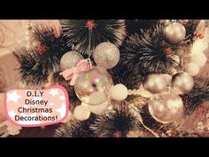 Super Easy D.Y Disney Mickey Mouse Christmas Decorations!