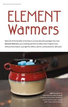 Now you can  keep the scent going even while you sleep with this new style of Scentsy Warmer that does not produce any light.  www.karenburnett.scentsy.us