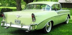 1956 Chevy Bel Air Sport Coupe Brought to you by agents of car insurance at in for Chevrolet Bel Air, 1956 Chevy Bel Air, Chevrolet Impala, Classic Car Restoration, Drag Racing, Auto Racing, Hot Cars, Classic Cars, Classic Auto