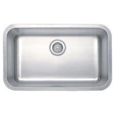 Winpro Undermount Single Bowl Kitchen Sink