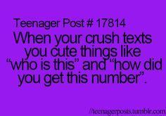 Teenager Posts. Lol