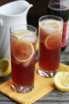 Sparkling Pomegranate Lemonade at notyourmommascookie.com. The perfect summertime drink!