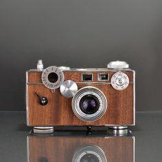 Argus C3 Mahogany camera.