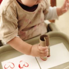 TP roll and paint