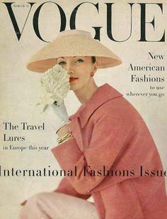 Fashion Show: Vogue 1956 - 1959 гг Фотограф: Karen Radkai