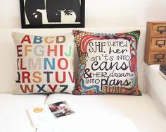 Pope superhero pillow,Color letters cushions,Linen cotton pillows,cushion home decor sofa cushion,decorative Pillows