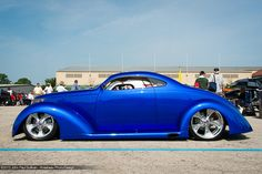 1937 Ford 5 Window Coupe Builder's Choice Side View  15th Goodguys PPG Nationals Expo Center Columbus Ohio