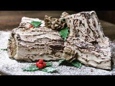Bûche de Noël | Schoko-Biskuitrolle | Weihnachtsklassiker | How to - YouTube