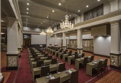 at Taj Cape Town is a beautifully restored Art Deco building where the splendour of a golden age plays host to a variety of events Art Deco Buildings, Cape Town, Golden Age, Plays, Restoration, Africa, Events, Architecture, Interior