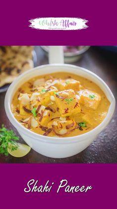 Best Paneer Recipes, Veg Recipes, Curry Recipes, Mexican Food Recipes, Quick Recipes, Cake Recipes, Cooking Recipes, Paneer Recipe Video, Shahi Paneer Recipe