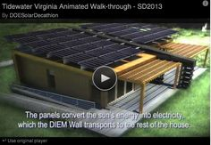 Team Tidewater's Canopy House included in the Hampton Roads Solar Tour - Sat. Oct. 5th - The state of the art dwelling dwelling designed and built by Hampton and Old Dominion University students will open for touring. Registration is required.  Read about the tour at http://www.tidewatercurrent.com/2013_fall/features.html