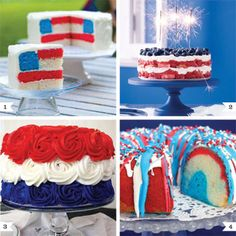 Cake recipes for the 4th