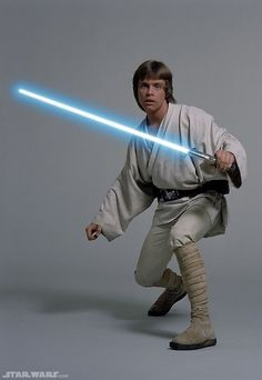 Luke Skywalker - Anakin Skywalker's and Padmé Amidala's son and Leia Organa's twin. Jedi whose coming of age and rise as a Jedi are portrayed in the original Star Wars trilogy and Star Wars Expanded Universe. Luke re-establishes the Jedi Order. Husband of Mara Jade, father of Ben Skywalker, ancestor of Cade Skywalker.