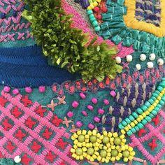 Beadwork and needlework how we love thee xxK&T #art #embroideryart #embroidery #needlepoint #crossstitch #handmade