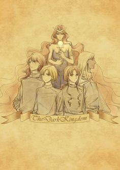 The Dark Kingdom by SemiMage.deviantart.com on @deviantART  Queen Beryl  The Four Generals