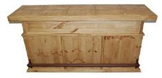 Bar with Tile Top $465   Rustic Furniture   Western Furniture
