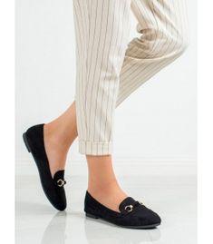Semišové mokasíny Heeled Mules, Slippers, Flats, Heels, Fashion, Loafers & Slip Ons, Heel, Moda, Fashion Styles