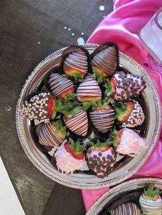 Chocolate Covered Strawberries | Baby Stone