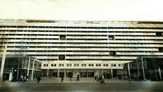 Dresden, Prager Str. / Stadtbaustein des Wiederaufbaus von Dresden. Moderne in der DDR. ©2016 photo by #folkmer