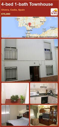 4-bed 1-bath Townhouse in Olvera, Cadiz, Spain ►€75,000 #PropertyForSaleInSpain