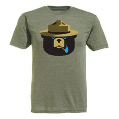 Smokey tee; I know its a guy shirt but I would totally wear it!