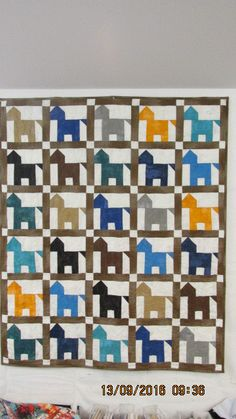 Hold Your Horses child's quilt by carmenjass on Etsy