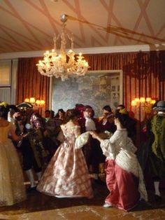 Danceing at the Hotel Danieli Ball