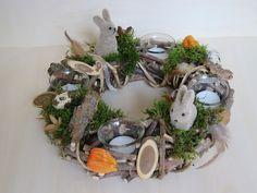 Ostertischdeko - Osterkranz Naturkranz - ein Designerstück von Fienchen61 bei DaWanda