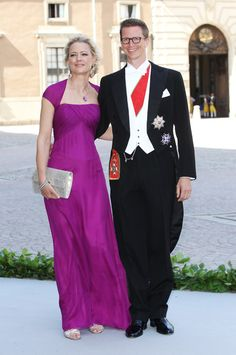 Princess Anna and Prince Manuel of Bavaria attend the wedding of Princess Madeleine of Sweden and Christopher O'Neill at The Royal Palace on 8 June 2013 in Stockholm, Sweden