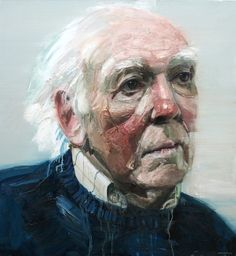 BP Portrait 2012 - Colin Davidson, Entry was The Dialects Of Silence (Portrait of Michael Longley)