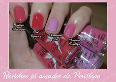 Risqué Coleção Penélope Charmosa 2 - Penélope Charmosa, Pink Vigarista, Charminho Lilás e Momento Penélope