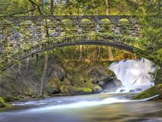 Whatcom Falls Park, Bellingham, WA