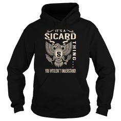 [New last name t shirt] Its a SICARD Thing You Wouldnt Understand  Last Name Surname T-Shirt Eagle  Teeshirt of year  Its a SICARD Thing You Wouldnt Understand. SICARD Last Name Surname T-Shirt  Tshirt Guys Lady Hodie  TAG YOUR FRIEND SHARE and Get Discount Today Order now before we SELL OUT  Camping a rittgers thing eagle a sicard thing you wouldnt understand last name surname