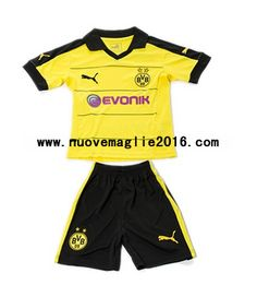 Maglia Borussia Dortmund Bambino Home 2015-2016 Gym Men, Trunks, Swimming, Swimwear, Fashion, Borussia Dortmund, Drift Wood, Swim, Bathing Suits