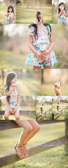 Ice Cream Sessions Houston TX Children Photographer, Maricruz is a featured Houston Texas Photograph Photography Mini Sessions, Spring Photography, Children Photography, Photography Poses, Family Photography, Watermelon Photo Shoots, Mini Session Themes, Kid Poses, How To Pose