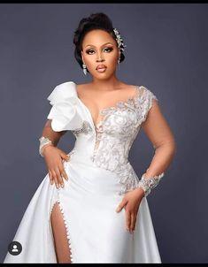 Civil Wedding Dresses, African Wedding Dress, White Wedding Dresses, Bridal Wedding Dresses, Bridesmaid Dresses, African Fashion, African Women, Fashion Women, Gowns Of Elegance